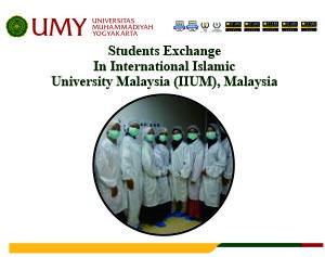 Students Exchange In International Islamic University Malaysia (IIUM), Malaysia
